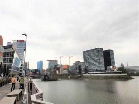 Düsseldorf quartier Medienhafen