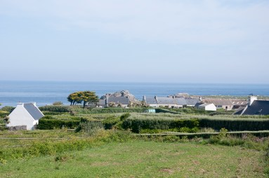 Ile de Batz, le village