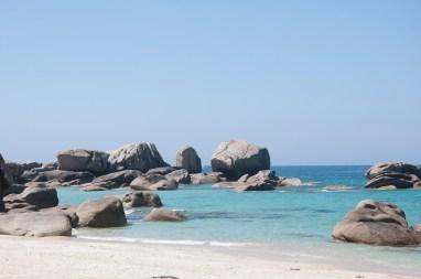 Meneham, la plage