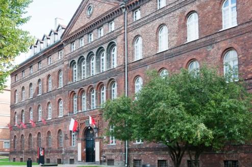 Le bureau de la poste polonaise de Gdansk, attaquée le 1-9-39