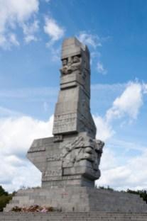 Westerplatte:monument aux résistants polonais
