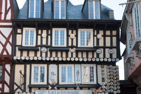 Quimper: vieille maison