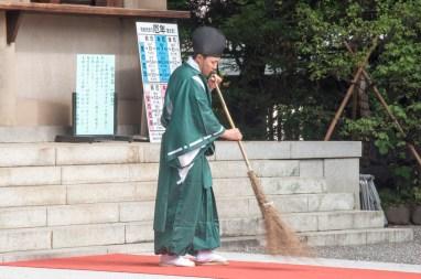 tokyo omotesando Togo Jinja temple