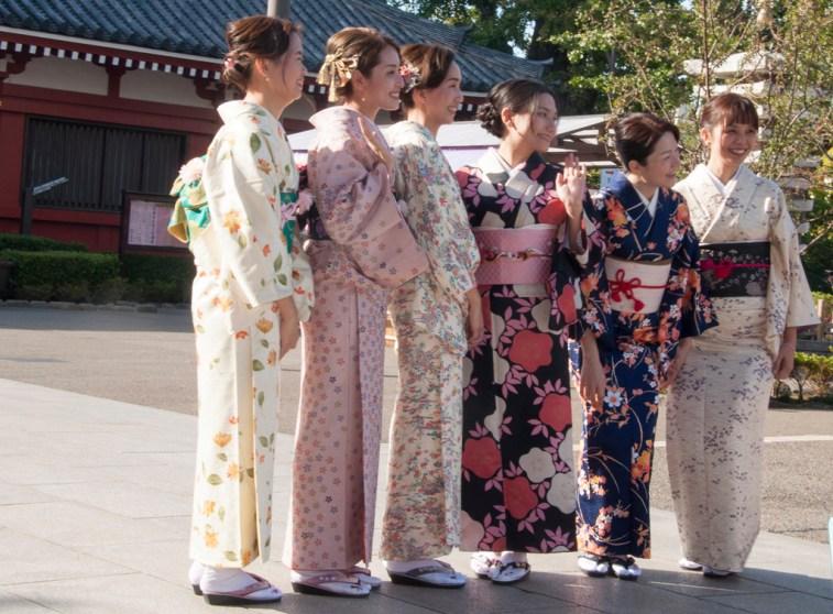 Tokyo Asakusa, près des temples