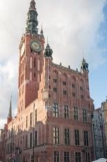 Gdansk hôtel de ville