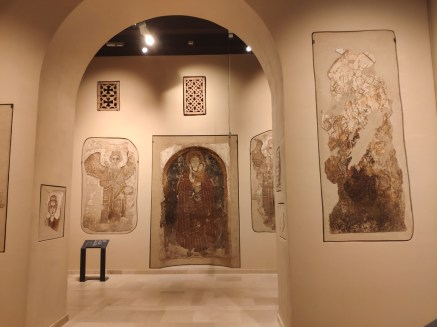 Varsovie musée National, église de Nubie