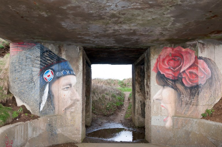 saint Mathieu , bunker allemand