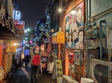 Tokyo injurieuse golden gai (quartier des bars traditionnels)