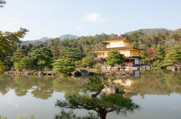 Kyoto: pavillon d'or