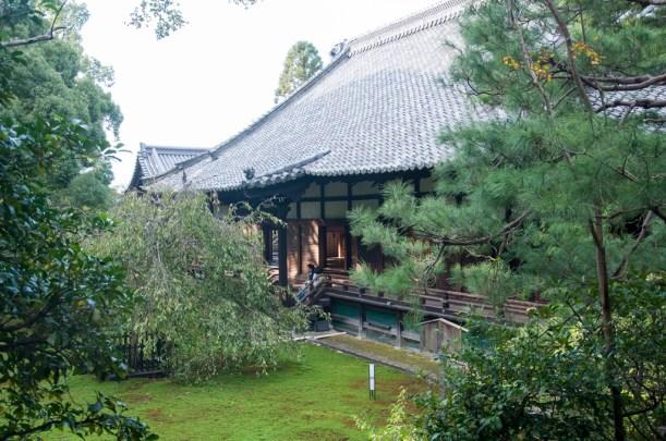Kyoto: shoren in temple