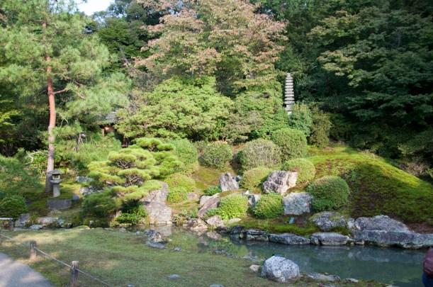 Kyoto shoren in temple