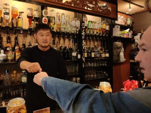 Kyoto Poncho Cho quartier: bar