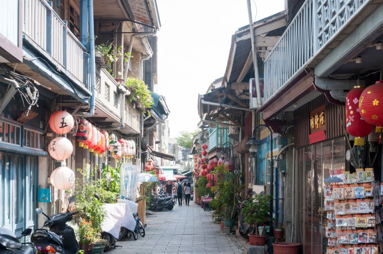 Une rue de Tainan
