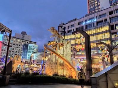 Taipei : quartier moderne de Xinyi