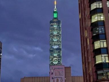 Taipei: la tour 101