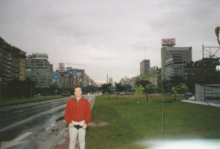 Buenos Aires: l'allée du 19 février