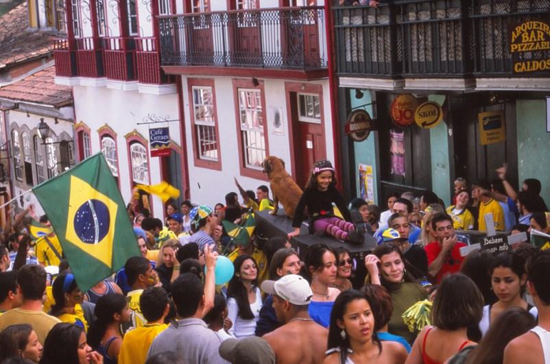 Ouro Preto:le Brésil a gagné