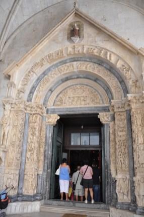 Youg 892 Trogir cathédrale saint laurent