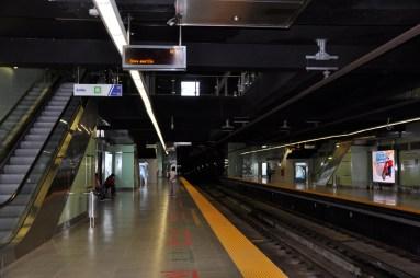 métro vers le vieux quartier (casco viejo)