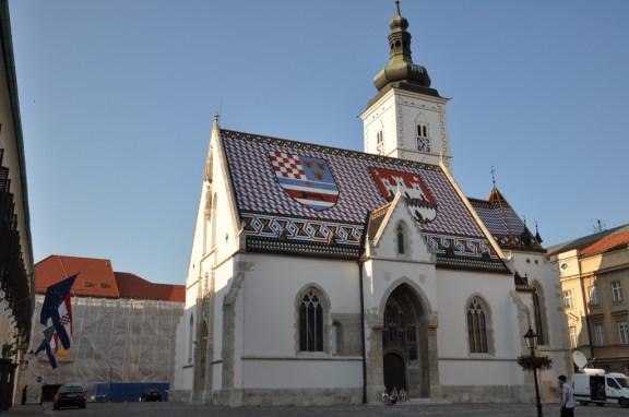 Zagreb, église St Marc
