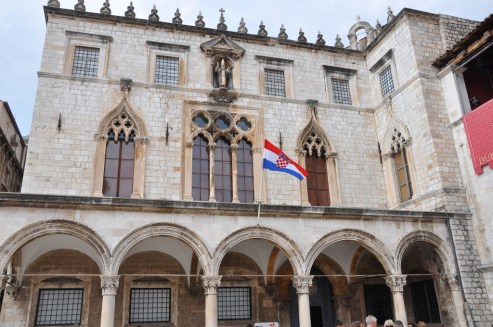 Dubrovnik palais sponza