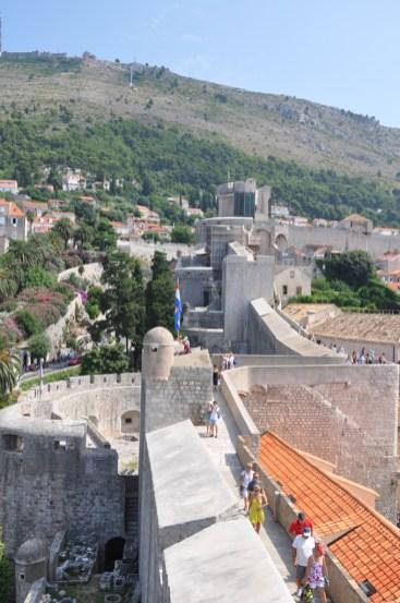 Dubrovnik: le tour des fortifications