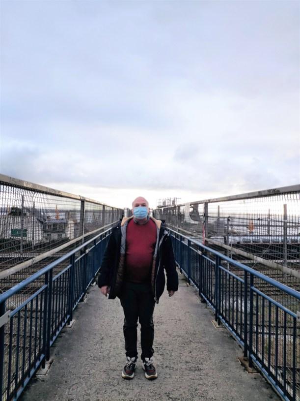 Brest confinement n° 2. Il fait gris, c'est triste