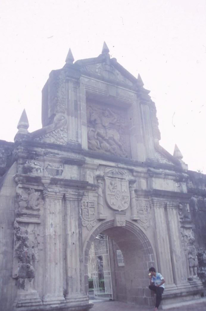 Manille fort Santiago