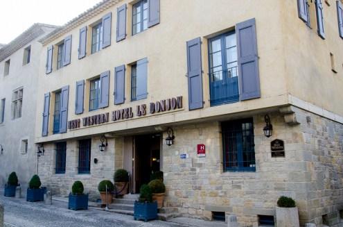 Carcassonne notre hotel