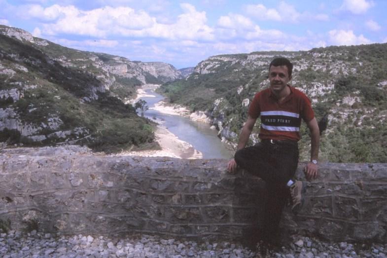 Cévennes 2004, une année après mon arrivée à Montpellier