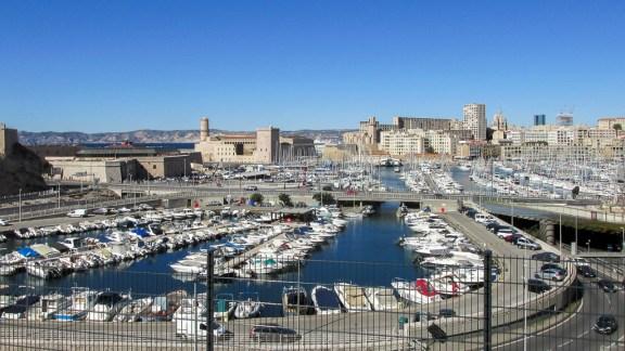 Marseille Le port
