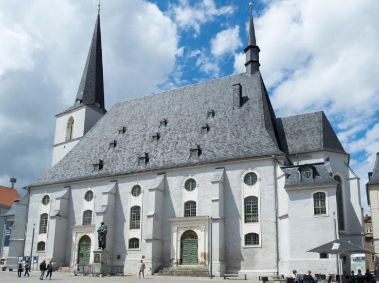 Weimar: église Herderkirche