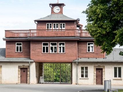 buchenwald: entrée du camp