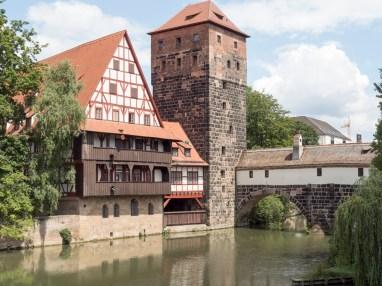 Nuremberg: vieille ville