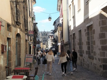 Rennes : rue sainte Melaine