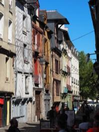 Rennes: le vieux centre