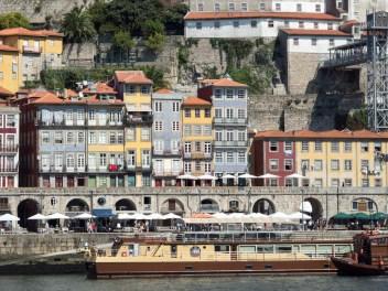 Porto: la vielle ville vue depuis Gaia