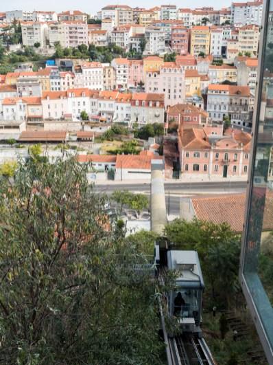 Coimbra: accès à la ville haute