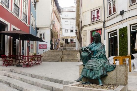Coimbra: ruelles montant vers l'université