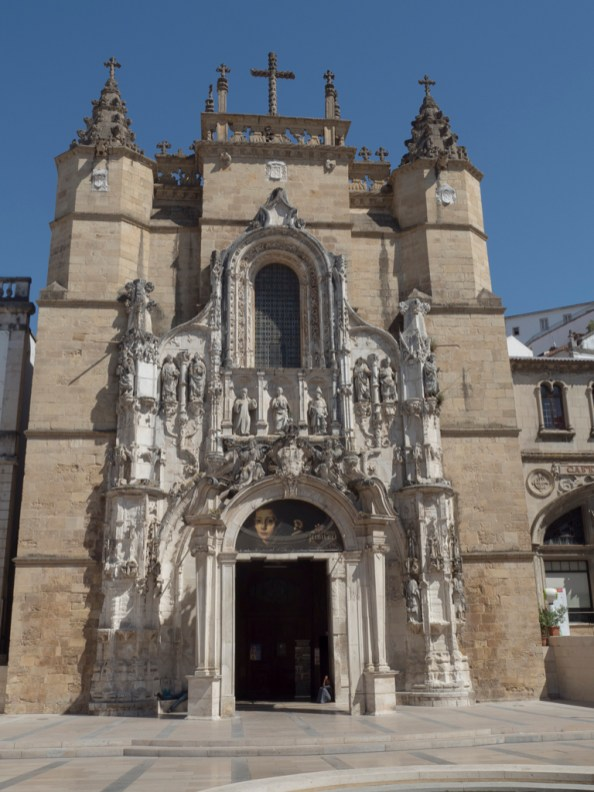 Coimbra: église Santa-Cruz