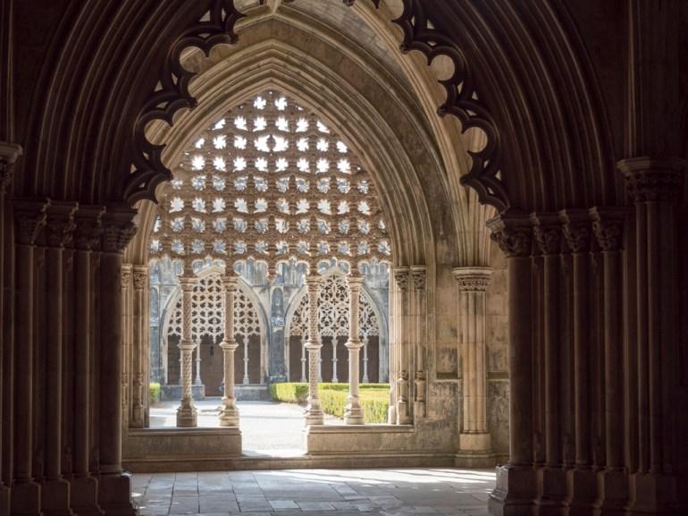 Batalha: Monastère (intérieur du cloitre)
