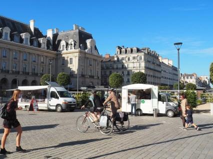 Rennes: place de la République