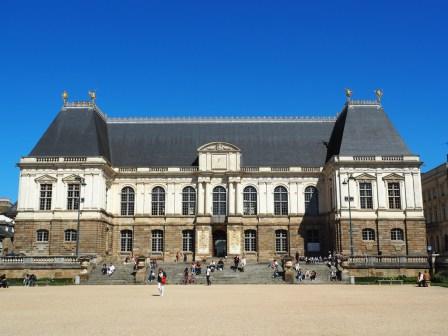 Rennes: le parlement de Bretagne