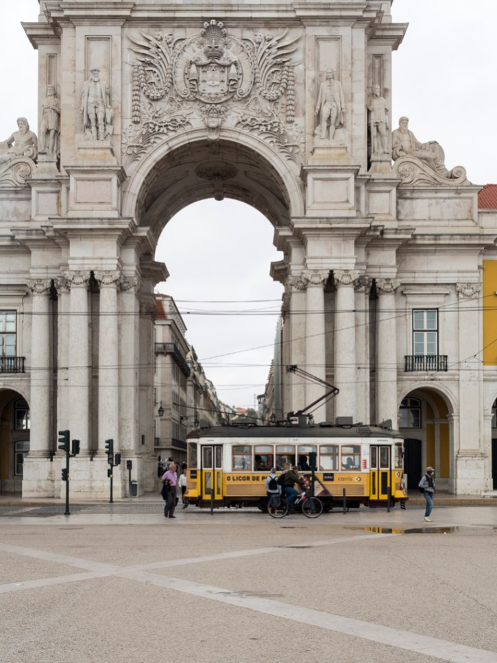 Lisbonne: Baixa Arco da Rua Augusta
