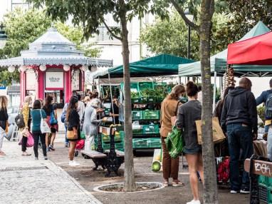 Lisbonne: Bairro Alto place Principe RealA