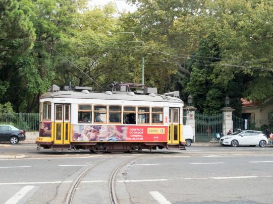 Lisbonne: le tram 28