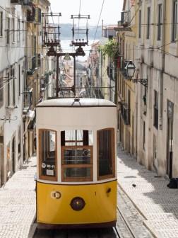 Lisbonne: funiculaire de Boca Barrio Alto