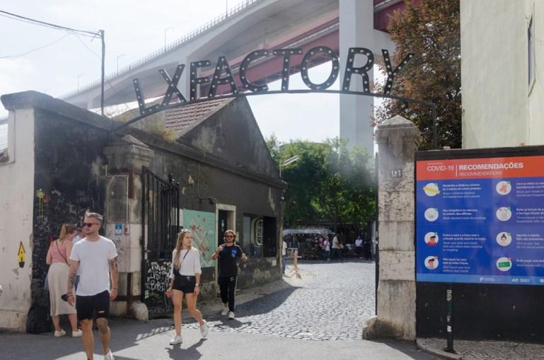 Lisbonne LX Factoryy
