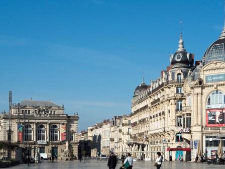 Montpellier. Place de la Comédie