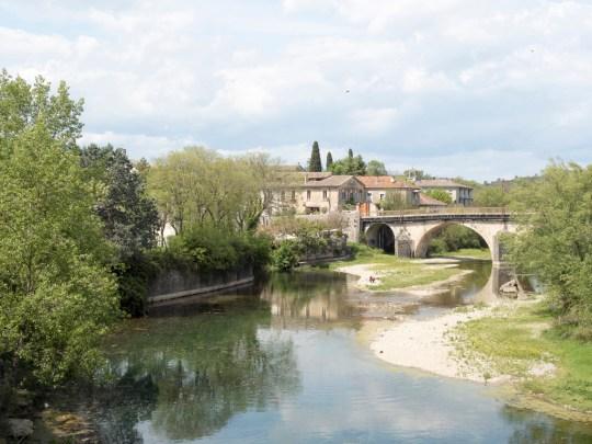 Sauve, entre Montpellier et Alès